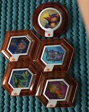 5x Rare Power Discs Disney Infinity 1.0