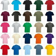Fruit of the Loom Valueweight Crew Neck T-shirt - Small - 5XL - 25 Colours!