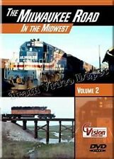 Milwaukee Road in the Midwest Vol 2 DVD NEW Cvision