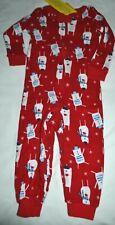 Gymboree Gymmies Holiday Shop Winter Polar Bear Red Pajamas 12 18 Month Boys Nwt