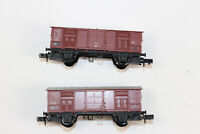 n3263, 2 Stück Arnold  Spur N Güterwagen Siehe Fotos!