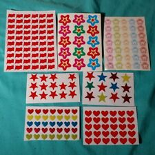 Scrapbooking Stickers - Lot of 7 Sheets - NEW