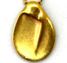 Tiffany & Co Peretti Retired 18K Solid Gold Pendant Necklace