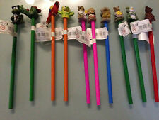 360 Bleistifte Tiermotiv restposten. Kinder Holz 21cm Hase Bär Papagei Krokodil