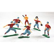 Baseball Party Cake Toppers Baseball Players Pack Of 6 Cupcake Toppers CLOSEOUT