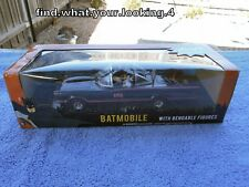 BATMAN BATMOBILE WITH BATMAN AND ROBIN FIGURES  CLASSIC SERIES MINT IN BOX