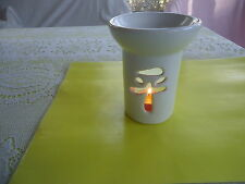 VTG Oriental Asian Glass Oil Candles Duffuse Party Lite Fragrance Aroma Therapy