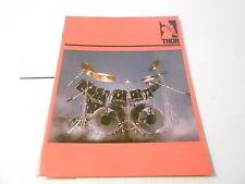 VINTAGE MUSICAL INSTRUMENT CATALOG #10188 - 1986 THOR DRUMS w/PRICE LIST