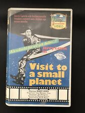 Visit To A Small Planet Ex-Rental Vintage Big Box VHS Tape English dutch subs