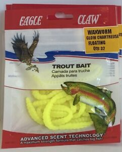 Eagle Claw - Waxworm Floating - Choose Color