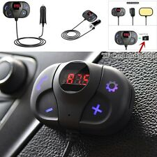 NEW Bluetooth Mini FM Transmitter Car Kit 12V/24V 0~5 meters 87.5~108MHz