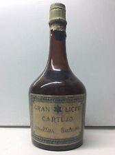 RARE & ANCIENNE BOUTEILLE DE GRAN LICOR CARTUJO / GRANDE LIQUEUR CHARTREUSE