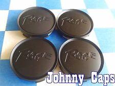 RAGE Wheels NEW! BLACK Center Cap # SUCAP-16 Custom Wheel Center Hub Caps (4)