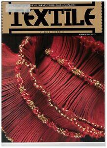BULK 9 x Textile Fibre Forum magazine: issue #76, 77, 81, 82, 83, 84, 86, 88, 89