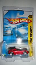 Hot wheels Tesla Roadster Red 2008 New Models In Protector