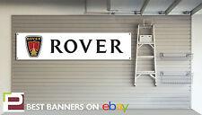 Rover Workshop Garage Banner SD1, P6, V8, 2000 TC, 200, 400, Gti