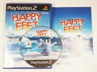 HAPPY FEET - PS2 - Sony PlayStation 2 Kids Penguin Game COMPLETE EXCELLENT COND.