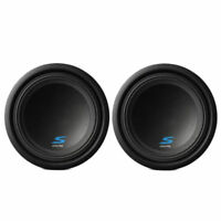 "(2) New! Alpine S-W10D4 10"" 1800 Watts Dual 4-Ohm Car Audio Subwoofers Package"