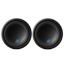 "2) Alpine S-W10D4 10"" 1800W S-Series Dual 4-Ohm Car Audio Subwoofer Package"