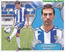 FERNANDO BRAZIL MALAGA.CF STICKER LIGA ESTE 2009 PANINI