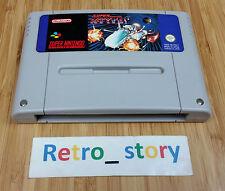Super Nintendo SNES Super R-Type PAL