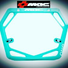 Mac One BMX Number Plate Pro Teal