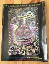 Lethargic Artist Coloring Book Drawings Patrick McGilligan Vidiots 2015 Coagula