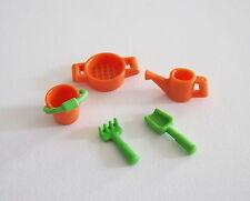 PLAYMOBIL (1506) ENFANTS - Lot de Jouets Orange & Vert Bac à Sable & Plage Mer