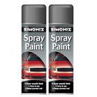 Simoniz Large Grey Primer Spray Paint 2 Cans 500ml