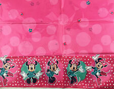 Disney Minnie Mouse Party Plastic Tablecloth Disposable Table Cover Rec 110x2.4M