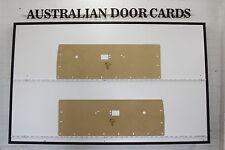 Chrysler Valiant VE, VF, VG Front Door Cards. Hardtop Coupe, Regal. Trim Panels