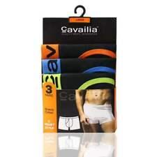 Men's 12 Pack Neon Elasticated Cavailia 95% Cotton Rib Boxer Shorts S to 2XL