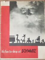 Vintage 1931 FAO Schwarz Original Christmas Catalog See Pictures hard To Find