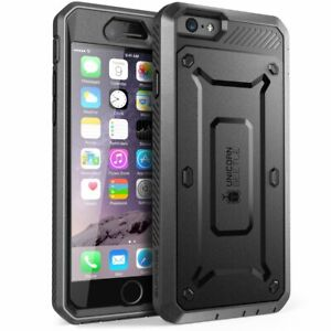 SUPCASE For iPhone 6 6s Plus, Multi-Layer Full-Body Case Cover Built-in Screen