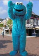 Sesame Street Elmo Cookie Monster Adult size Mascot Costume Suit Outfit Clothing