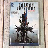 Batman/Superman Volume 1: Cross World HC (The New 52) by Greg Pak (Hardback,...
