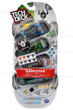 Tech Deck 96mm Fingerboard 4 Pack Darkstar Series - Rare item