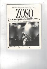 Rare Vintage Led Zeppelin Zoso Magazine August 1989 Vol Iii No. Viii Ms1883