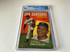 DON NEWCOMBE NN CGC 4.5 BASEBALL HERO BROOKLYN DODGERS MLB FAWCETT COMICS 1950