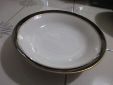 """Noritake IVORY & EBONY 9 1/2"""" Round Vegetable Bowl EUC"""