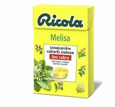 Ricola Melissa lozenges Sugar Free -Made in Germany