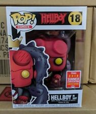 Funko Pop Hellboy in Suit #18 2018 Summer Convention Exclusive SDCC Ships 8/21
