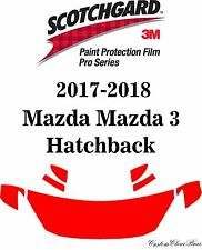 3M Scotchgard Paint Protection Film Pro Series 2017 2018 Mazda Mazda 3 Hatchback