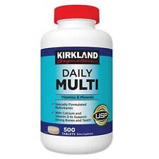 Kirkland Daily Multi Multivitamins 500 tablets