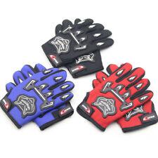 Kids Children Cycling Full Finger Gloves MTB Mountain Bike Road Bicycle Racing