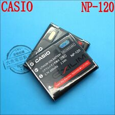 Original Casio NP-120 Battery for Casio EX-S200 ZS10 ZS15 Z680 TZ20 ZS12