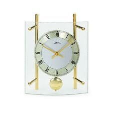 AMS 135 - Desk Table Clock Horloge de table Tafel Klok Tischuhr - Quartz Pendel