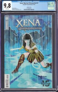 Xena: Warrior Princess v3 #1 (Dynamite Ent., 2019) CGC 9.8 Variant Cover E