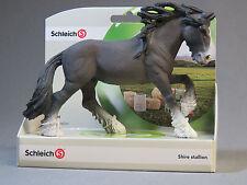 Schleich Shire Stallion 13734 New ol