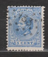NVPH Netherlands Nederland 19 TOP CANCEL ZUTPHEN (133) Willem III 1872